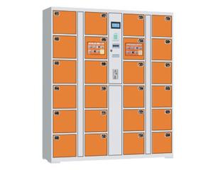 YF-G076 24门条码投币存包柜