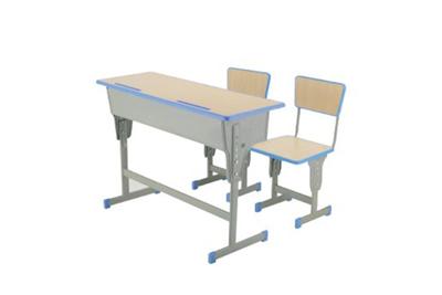 YF-X041 双人课桌椅