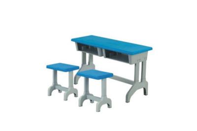 YF-X043 双人课桌椅